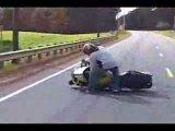 подборка неудач на мотоциклах